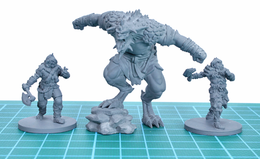 Pd models is great for miniatures 3d printing pd models
